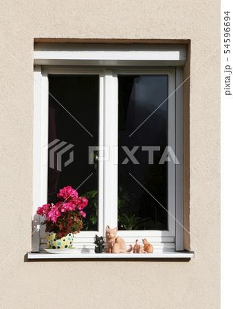 窓 ウィーン オーストリアの 54596694