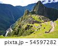 マチュピチュ遺跡(ペルー) 54597282