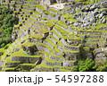 マチュピチュ遺跡 アンデネス(ペルー) 54597288