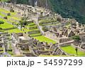マチュピチュ遺跡(ペルー) 54597299