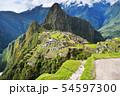 マチュピチュ遺跡(ペルー) 54597300