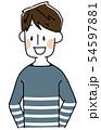 若い男性 54597881