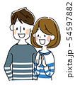 若い夫婦 54597882