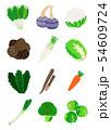 冬野菜 Winter vegetables 54609724