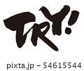 try 筆文字 54615544