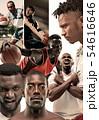 バスケ バスケットボール 籠球の写真 54616646