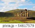 イースター島 アフ・トンガリキのモアイ(チリ) 54617579
