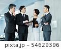 ビジネス オフィス ビジネスマン ミドル キャリア 54629396