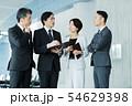 ビジネス オフィス ビジネスマン ミドル キャリア 54629398