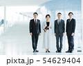ビジネス オフィス ビジネスマン ミドル キャリア 54629404