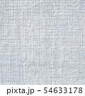 Blue cotton weave fabric background texture 54633178
