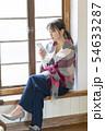 若い女性 スマホ 54633287