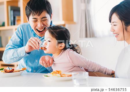 ファミリー 若い家族 54636755