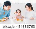 ファミリー 若い家族 54636763