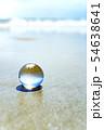 地球儀のイメージフォト フィリピン・パンゴラオのビーチ 54638641