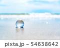 地球儀のイメージフォト フィリピン・パンゴラオのビーチ 54638642