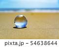 地球儀のイメージフォト フィリピン・パンゴラオのビーチ 54638644
