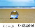 地球儀のイメージフォト フィリピン・パンゴラオのビーチ 54638646