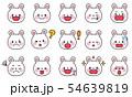 ウサギの表情 54639819