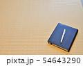 手帳とペンと余白 54643290