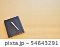 手帳とペンと余白 54643291