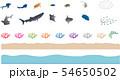 美ら海物語 パーツ ベクター 54650502