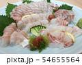鯛お造り 大皿の刺身盛り 54655564