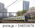 春の川口駅前を通過する高崎線E233系 54655676