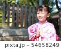 浴衣 (夏祭り 盆踊り イベント 行事 伝統 和服 園児 女児 文化 育児 子育て 子供 着物 寺) 54658249