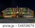 シンガポール・シンガポール情報通信芸術省(オールド・ヒル・ポリス・ステーション) 夜景 54658679