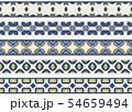 Seamless decorative borders 54659494