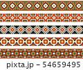 Seamless decorative borders 54659495