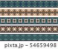 Seamless decorative borders 54659498