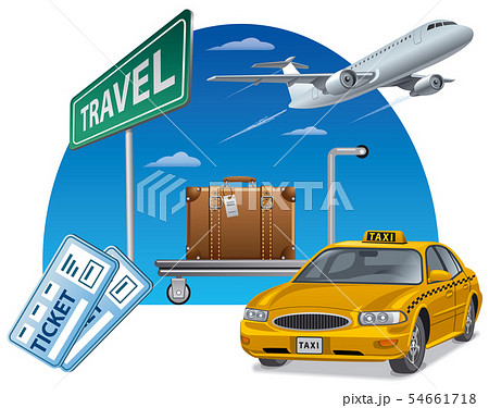 travel and transport with tickets 54661718