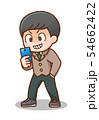 男子学生のイラスト 54662422