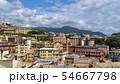Aerial View of Old Town Genoa. Genova Skyline, 54667798