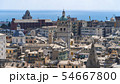 Aerial View of Old Town Genoa. Genova Skyline, 54667800