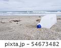 プラスチックごみ 海洋汚染 環境問題 海 砂浜 海岸 54673482
