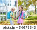 Kids go back to school. Child at kindergarten. 54676643