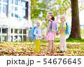 Kids go back to school. Child at kindergarten. 54676645