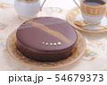 チョコレートケーキ ティータイム 54679373