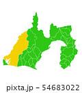 静岡県と浜松市地図 54683022