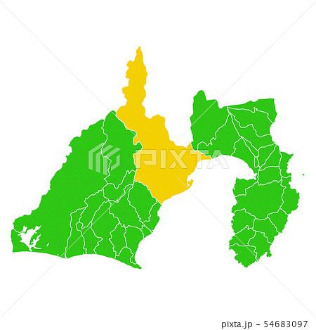 静岡県と静岡市地図 54683097