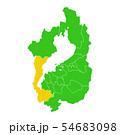 滋賀県と大津市地図 54683098