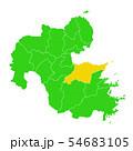 大分県と大分市地図 54683105