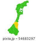 石川県と金沢市地図 54683297