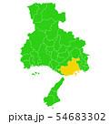 兵庫県と神戸市地図 54683302