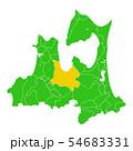 青森県と青森市地図 54683331