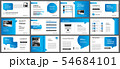 Presentation and slide layout template.  54684101