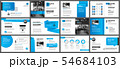 Presentation and slide layout template.  54684103